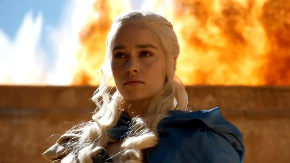 daenerys fire