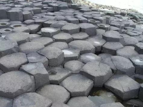 hexagon stones