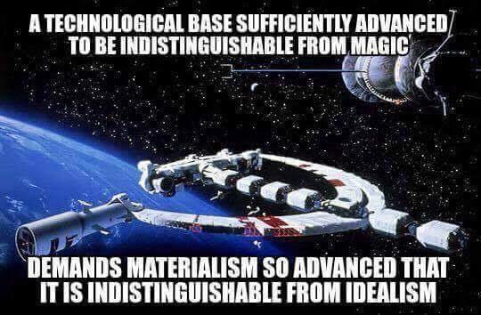 materialism idealism