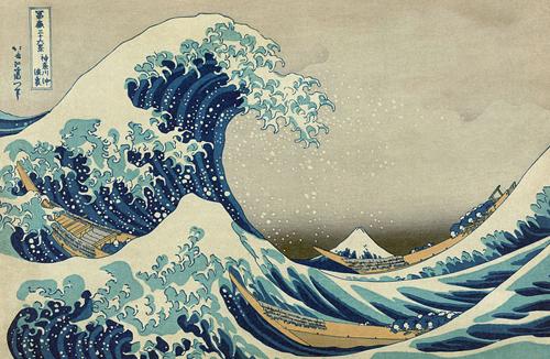 great wave of kanawaga