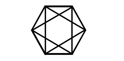 hexagon tilt overlap
